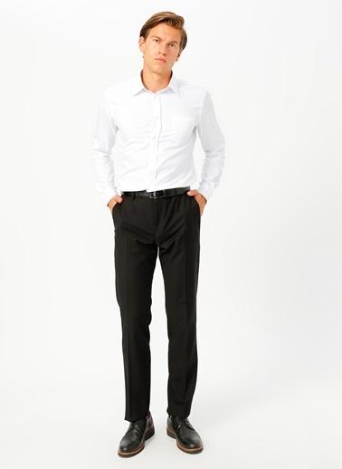 Fabrika Comfort Fabrika Comfort Gömlek Yaka Düz Beyaz Gömlek Beyaz